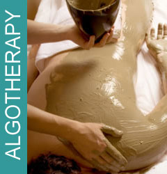 Algotherapy, seaweed body wrap