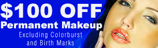 $100 OFF Permanent Makeup