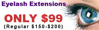 $99 Eyelash Extensions Special
