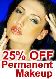 25% OFF Permanent Makeup, Lips, Eyeliners, Eyebrows